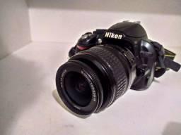 Nikon D3100 (lente 18-55+bateria nova+carregador+ bolsa)