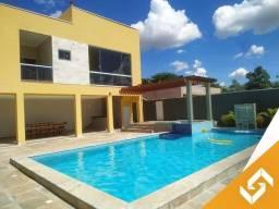 Bela casa em condomínio fechado, c/piscina e ofurô, em Caldas Novas. Cód. 1008