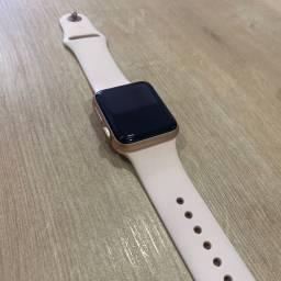 Loja física. Apple Watch serie 3 38mm rosa, muito novo sem marcas retira hoje