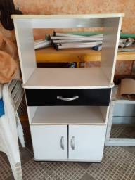 Armário para microondas e forno elétrico