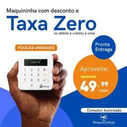 Maquininha SumUp + TAXA ZERO, leia a descrição.