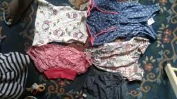 Lote roupas há de 1 ano