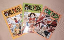 One Piece Vol 1, 2, 3