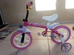 Vendo bicicleta aro 14, sem freio