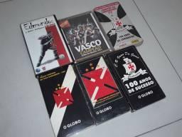 Fitas vhs e DVD Vasco comemorativos