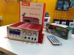 Amplificador Karaokê Bluetooth