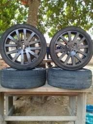 Só vendo Roda top 17 cm pneus