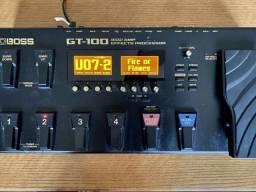 Pedal de Efeitos Boss GT 100
