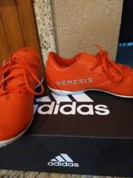 Chuteira Futsal Juvenil Adidas Nemeziz n37