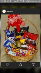 Cesta de chocolates personalizadas