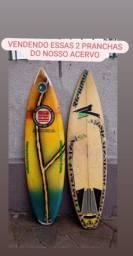 Vendo 2 pranchas de surf antigas da minha coleção