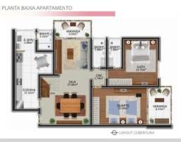 Cobertura Duplex 3 quartos -Primeira locação-Corrêas-Petrópolis