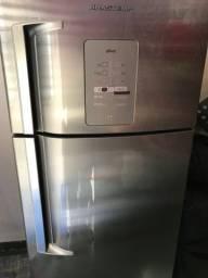 Refrigerador | Geladeira Brastemp Ative! Frost Free 2 Portas 403 Litros Inox