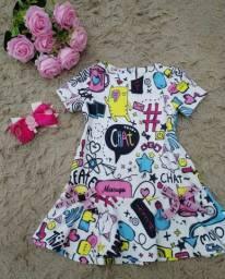 Vestido infantil menina MyLu