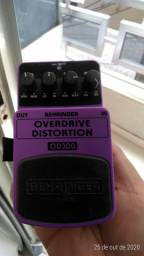 Pedal Overdrive distortion