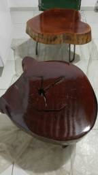 Mesas de tronco