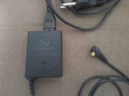 Fonte Carregadora Sony Psp 5v 1500ma (Somente venda)