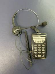 Telefone com fio Headset MT108 Maxtel