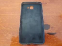 Capa De Plástico Preta Para Aparelho De Telefone Celular Samsung A 9