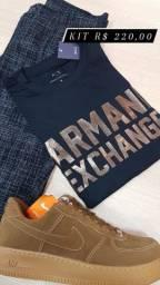 Camiseta Armani linha Premium