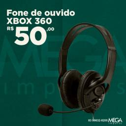 Fone de ouvido XBOX 360