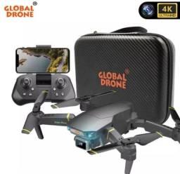 Drone zangao 4k gd89 pro grava e tira foto ao vivo com sensor ante  impacto