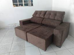 Sofá dois metros (Retrátil e reclinável)