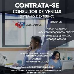 consultor de vendas de consórcio / financiamento