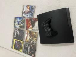 Vendo Playstation 3 - 6 jogos