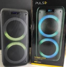 Caixa de Som 1000w-Pulsebox 03 anos de Garantia-(Lojas Wiki)