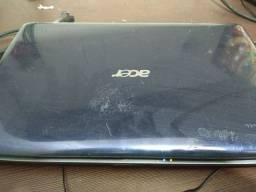 Notebook Acer com detalhes