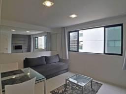 Título do anúncio: Apartamento com 1 quarto para alugar, 35 m² por R$ 1.900/mês - Boa Viagem - Recife/PE