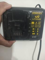 Carregador Bateria Parafusadeira Stanley 12v