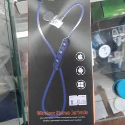 Fone Bluetooth Esportivo Sem Fio