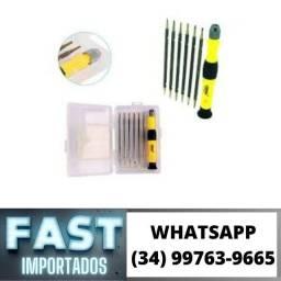 Kit Chaves Torx 12 pçs Celular Le-953