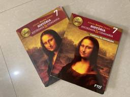 Livro História Sociedade e Cidadania 7 ano Seminovo Completo