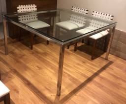 Mesa em vidro perfeita