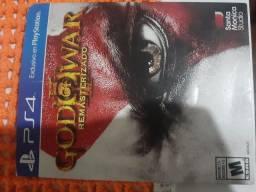 Vendo jogo de ps4 god of war pra vim buscar
