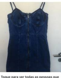 Vestido Jeans Curto Renner