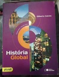 História Global - Gilberto Cotrim Vol. Único Ed. 11 em Ótimo estado