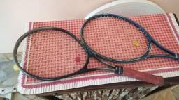 Raquetes tênis classicas