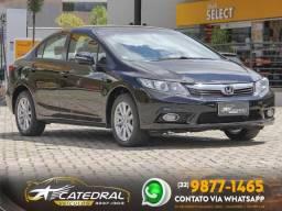 Honda Civic Sedan LXR 2.0 Flexone 16V Aut. 4p 2014 *Novíssimo* Impecável