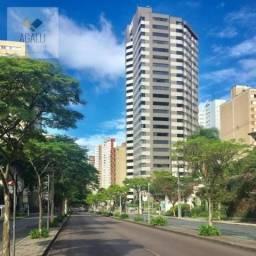 Apartamento com 4 dormitórios para alugar, 218 m² por R$ 3.900,00/mês - Bigorrilho - Curit