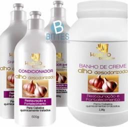Banho de creme alho desodorizado Hábito cosméticos