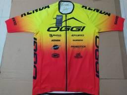 Camiseta Ciclismo Oggi Equipe modelo Team novo
