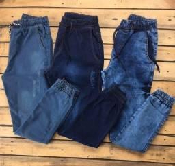 Calças Jeans modelo jockey