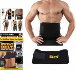 Cinta Modeladora Afina Cintura Calor Corporal Belt Sweat