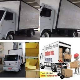Caminhão baú FRETE MUDANÇAS parceria