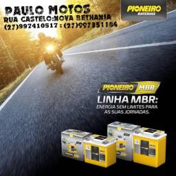 Baterias Pioneiro Moto 1 Ano De Garantia