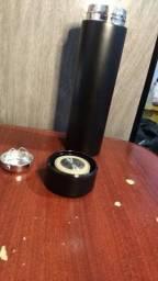 Garrafa com Tela de Led Temperatura 500 ml